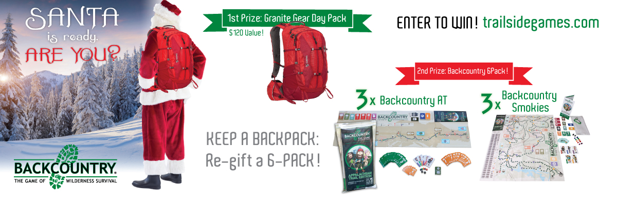 Day pack giveaway Trailside Games